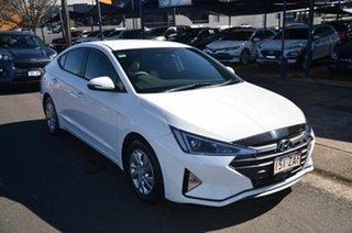 2019 Hyundai Elantra AD.2 MY19 Active SmartSense White 6 Speed Automatic Sedan.