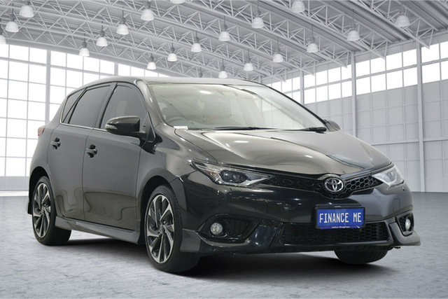 Used Toyota Corolla ZRE182R ZR S-CVT Victoria Park, 2018 Toyota Corolla ZRE182R ZR S-CVT Black 7 Speed Constant Variable Hatchback
