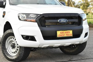 2017 Ford Ranger PX MkII 2018.00MY XL White 6 Speed Manual Cab Chassis.