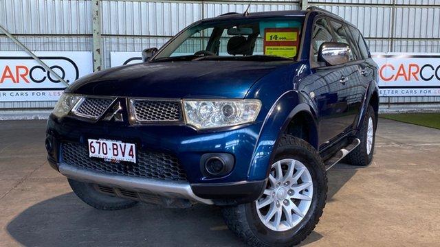 Used Mitsubishi Challenger PB (KH) MY10 LS Rocklea, 2010 Mitsubishi Challenger PB (KH) MY10 LS Blue 5 Speed Sports Automatic Wagon