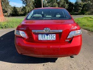 2010 Toyota Camry AHV40R Hybrid Red Constant Variable Sedan