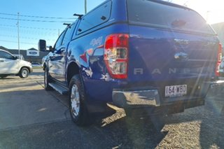 2015 Ford Ranger PX XLT Double Cab Blue 6 Speed Sports Automatic Utility