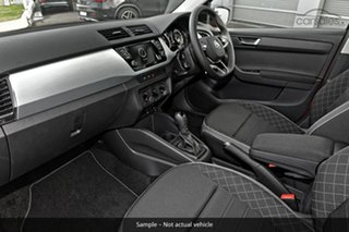 2021 Skoda Fabia NJ MY21 81TSI DSG Run-Out Edition Corrida Red 7 Speed Sports Automatic Dual Clutch