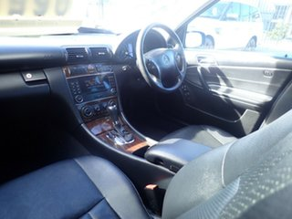 2005 Mercedes-Benz C180 W203 MY06 Kompressor Classic Black 5 Speed Auto Tipshift Sedan