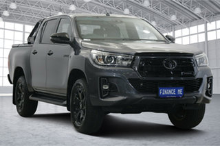 2019 Toyota Hilux GUN126R Rogue Double Cab Grey 6 Speed Sports Automatic Utility.