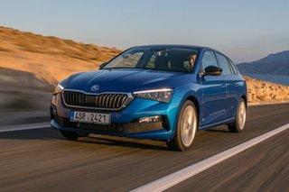 2020 Skoda Scala NW MY21 110TSI DSG Race Blue 7 Speed Sports Automatic Dual Clutch Hatchback