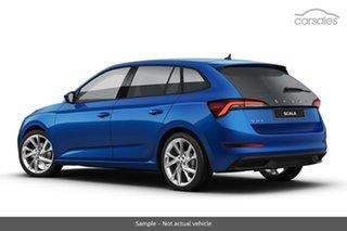 2020 Skoda Scala NW MY21 110TSI DSG Race Blue 7 Speed Sports Automatic Dual Clutch Hatchback.