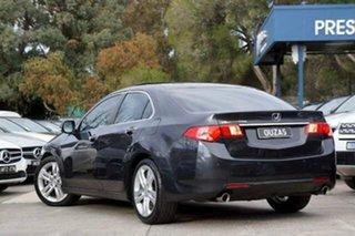 2011 Honda Accord Euro CU MY12 Luxury Black 5 Speed Automatic Sedan.