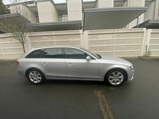 2010 Audi A4 B8 8K MY10 Avant Multitronic Silver 8 Speed Constant Variable Wagon.