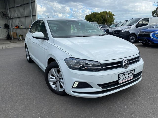 Used Volkswagen Polo AW MY18 70TSI DSG Trendline Hillcrest, 2018 Volkswagen Polo AW MY18 70TSI DSG Trendline White 7 Speed Sports Automatic Dual Clutch