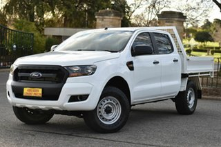 2017 Ford Ranger PX MkII 2018.00MY XL White 6 Speed Manual Cab Chassis