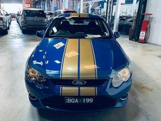 2012 Ford Falcon FG MkII XR6 Ute Super Cab Turbo Blue 6 Speed Sports Automatic Utility.