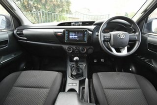 2017 Toyota Hilux GUN122R Workmate Double Cab 4x2 White 5 Speed Manual Utility