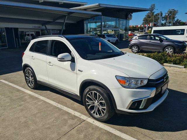 Used Mitsubishi ASX XC MY18 XLS 2WD Yamanto, 2018 Mitsubishi ASX XC MY18 XLS 2WD White 1 Speed Constant Variable Wagon