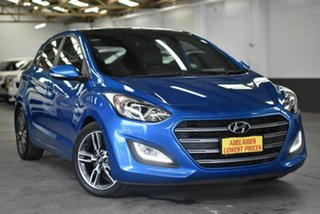 2016 Hyundai i30 GD5 Series II M SR Premium Blue 6 Speed Manual Hatchback.