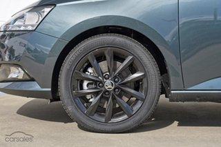 2021 Skoda Fabia NJ MY21 81TSI DSG Run-Out Edition Quartz Grey 7 Speed Sports Automatic Dual Clutch