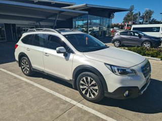 2016 Subaru Outback B6A MY16 3.6R CVT AWD White 6 Speed Constant Variable Wagon.