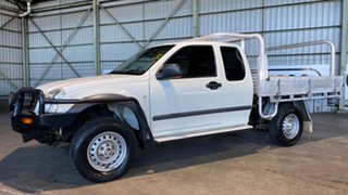 2003 Holden Rodeo RA LT Space Cab White 5 Speed Manual Utility.