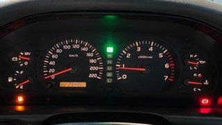 1999 Toyota Landcruiser FZJ105R GXL White 4 Speed Automatic Wagon