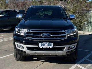 2019 Ford Everest UA II 2019.75MY Titanium Black 10 Speed Sports Automatic SUV.