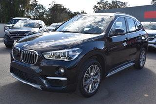 2018 BMW X1 F48 sDrive18d Steptronic Black 8 Speed Sports Automatic Wagon