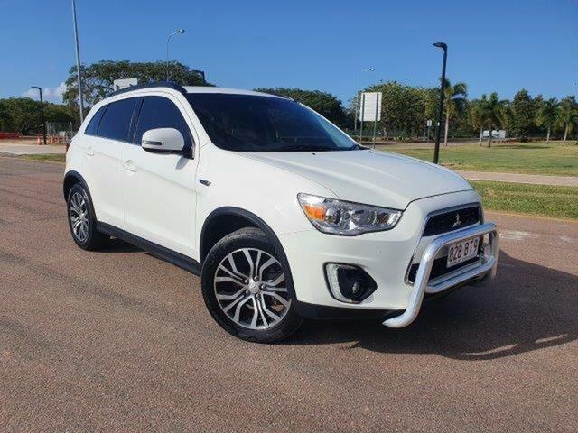 Used Mitsubishi ASX XB MY15 LS Townsville, 2015 Mitsubishi ASX XB MY15 LS White 6 Speed Sports Automatic Wagon