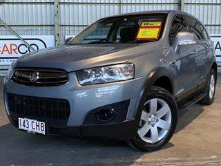 2011 Holden Captiva CG Series II 7 SX Silver 6 Speed Sports Automatic Wagon.