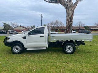 2017 Ford Ranger PX MkII XL Cool White 6 Speed Manual Cab Chassis