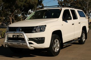 2017 Volkswagen Amarok 2H MY17 TDI420 (4x2) White 8 Speed Automatic Dual Cab Chassis