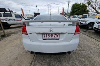 2011 Holden Commodore VE II MY12 SV6 White 6 Speed Sports Automatic Sedan