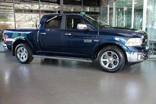 2020 Ram 1500 Laramie Crew Cab SWB Blue 8 Speed Automatic Utility