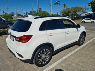 2018 Mitsubishi ASX XC MY18 XLS 2WD White 1 Speed Constant Variable Wagon.