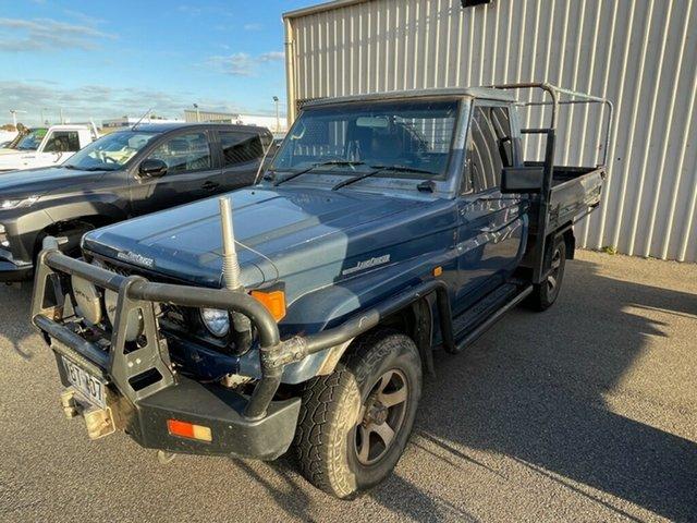 Used Toyota Landcruiser HZJ75RP (4x4) Prospect, 1995 Toyota Landcruiser HZJ75RP (4x4) Blue 5 Speed Manual 4x4 Cab Chassis