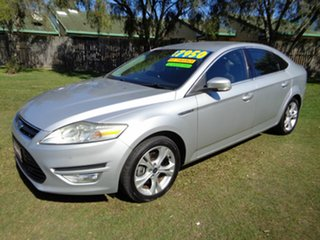 2010 Ford Mondeo MB MY11 Titanium Silver 6 Speed Sports Automatic Hatchback.