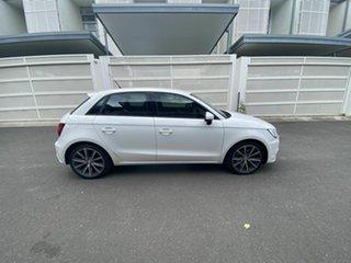 2016 Audi A1 8X MY16 Sport Sportback S Tronic White 7 Speed Sports Automatic Dual Clutch Hatchback.
