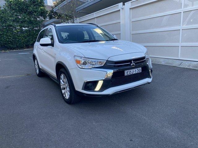 Used Mitsubishi ASX XC MY19 ES 2WD Zetland, 2019 Mitsubishi ASX XC MY19 ES 2WD White 1 Speed Constant Variable Wagon