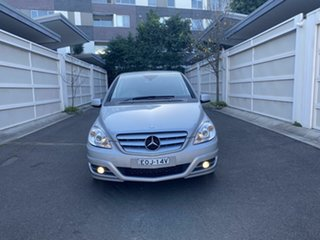 2011 Mercedes-Benz B-Class W245 MY11 B180 CDI Silver 7 Speed Constant Variable Hatchback.