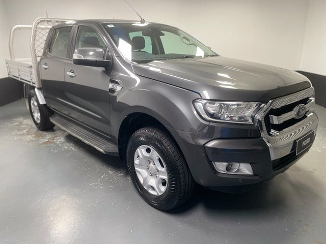 Used Ford Ranger PX MkII 2018.00MY XLT Double Cab Cardiff, 2018 Ford Ranger PX MkII 2018.00MY XLT Double Cab Magnetic 6 Speed Sports Automatic Utility