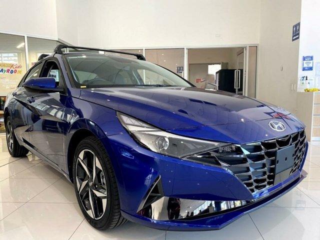 New Hyundai i30 CN7.V1 MY21 Active Mount Gravatt, 2021 Hyundai i30 CN7.V1 MY21 Active Intense Blue 6 Speed Manual Sedan