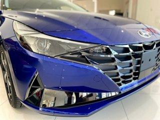 2021 Hyundai i30 CN7.V1 MY21 Active Intense Blue 6 Speed Manual Sedan.