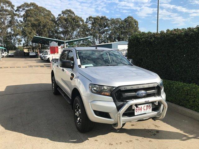 Used Ford Ranger PX MkII 2018.00MY XL Hi-Rider Acacia Ridge, 2018 Ford Ranger PX MkII 2018.00MY XL Hi-Rider White 6 speed Automatic Utility