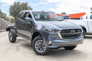 2021 Mazda BT-50 TFR40J XT Freestyle 4x2 Rock Grey 6 Speed Sports Automatic Cab Chassis.