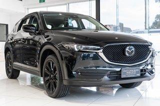 2021 Mazda CX-5 CX-5 K 6AUTO GT SP PETROL TURBO AWD Jet Black Wagon.