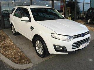 2015 Ford Territory SZ MK2 TX (4x4) White 6 Speed Automatic Wagon.
