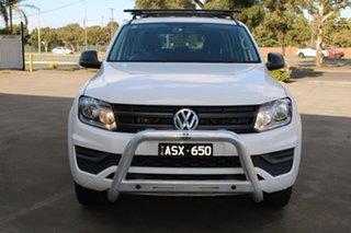 2018 Volkswagen Amarok 2H MY18 TDI420 (4x2) White 8 Speed Automatic Dual Cab Utility.