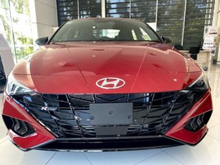 2021 Hyundai i30 CN7.V1 MY21 N Line D-CT Special Edition Fiery Red 7 Speed.