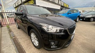 2012 Mazda CX-5 KE1021 Maxx SKYACTIV-Drive AWD Sport Black 6 Speed Sports Automatic Wagon.