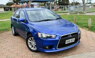 2014 Mitsubishi Lancer CJ MY15 LS Blue 6 Speed Constant Variable Sedan.
