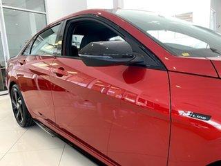 2021 Hyundai i30 CN7.V1 MY21 N Line D-CT Special Edition Lava Orange 7 Speed.