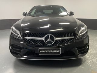 2019 Mercedes-Benz C-Class C205 800+050MY C200 9G-Tronic Black 9 Speed Sports Automatic Coupe.